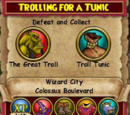 Trolling for a Tunic