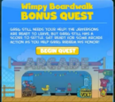 Wimpy Boardwalk Island Bonus Quest