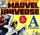 Official Handbook of the Marvel Universe Vol 1