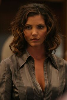 Charisma Carpenter is a vision as Cordelia.