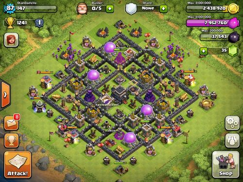 Clash of Clans Layout Planner