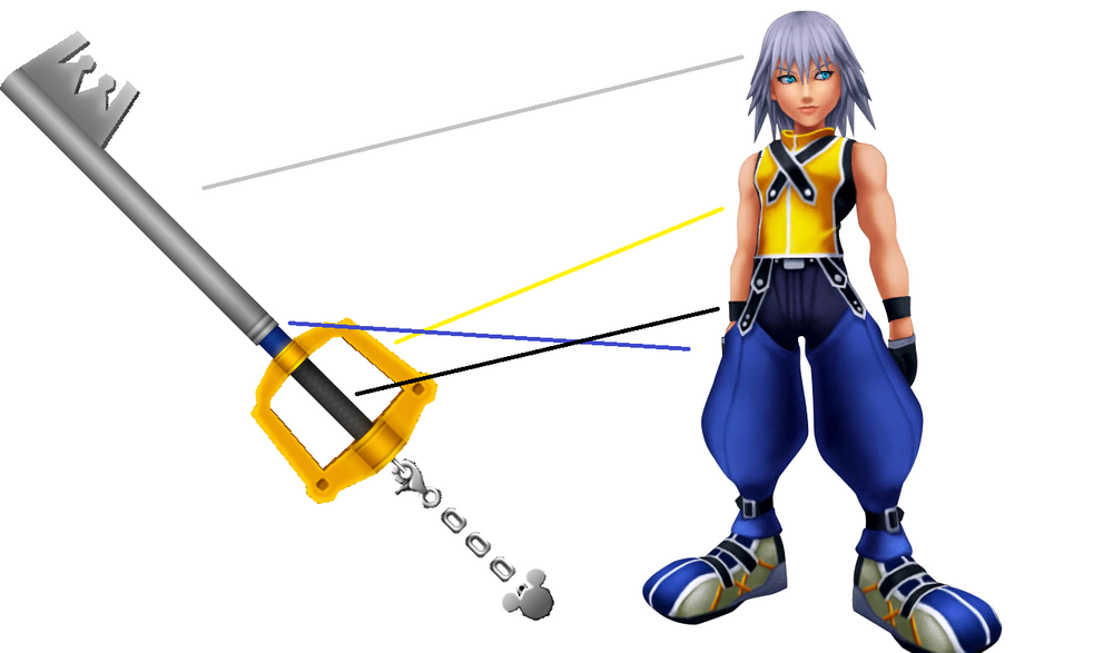 SearchKingdom Hearts Dream Drop Distance Riku Keyblades