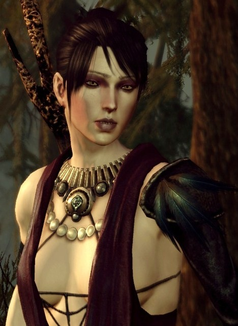 Dragon Age Origins Party Member Morrigan