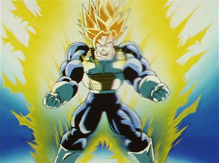 Achieved By: Goku, Vegeta, Future Trunks. Super Saiyan 3rd Grade - More