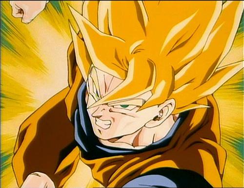 super saiyan elmo. 'Dragonball' Photo of Goku's Possible Super Saiyan Discovered
