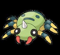 Aparecio un pokemon!!!!! 200px-Spinarak