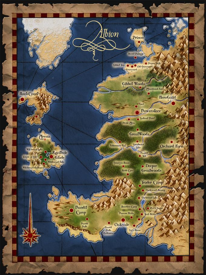Where\'s all the locations from the previous games?! - Fable III ...