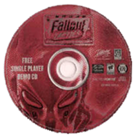 Fallout Tactics demo CD