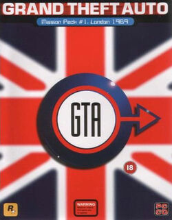 GTA London PC Cover
