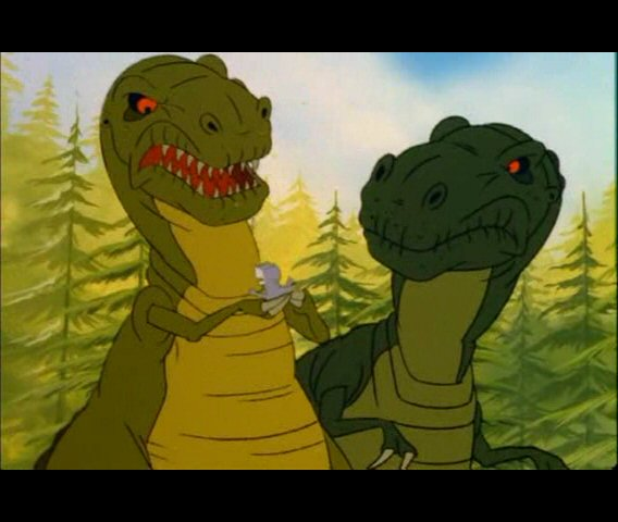 Chomper and Parents - The Gang of Five | The Land Before Time