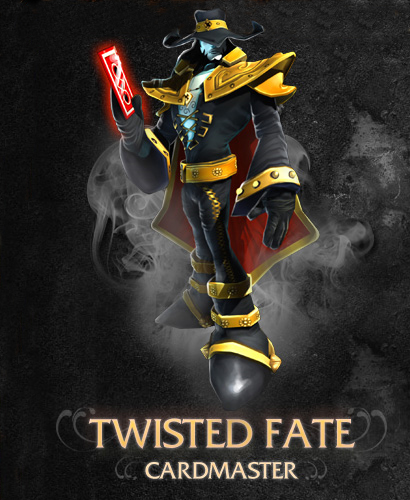 Twisted Fate: The Cardmaster.