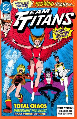 Team Titans 1 Cover