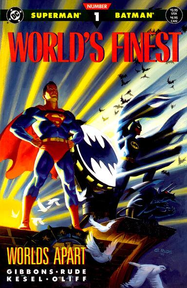 BATMAN Y SUPERMAN. WORLD FINEST