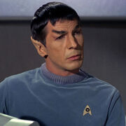 Leonard Nimoy as Spock in Star Trek The Original Series (TOS)