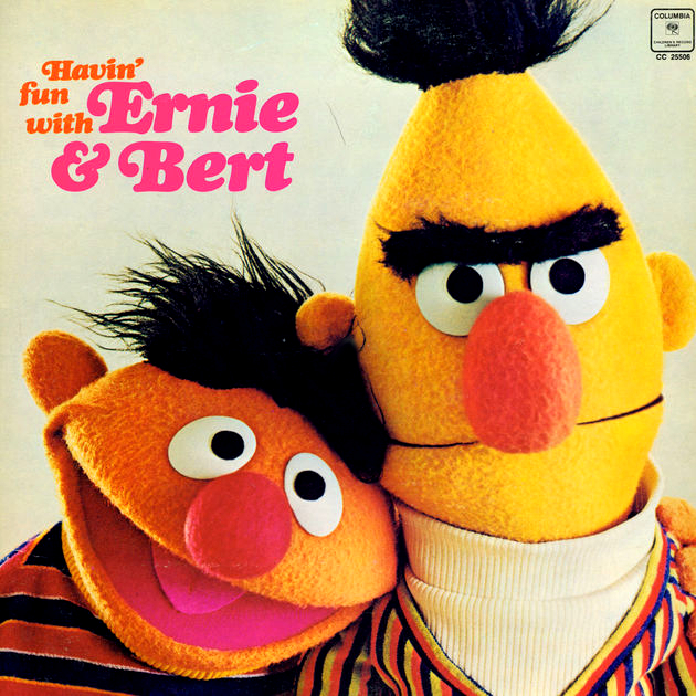 Havin' Fun with Ernie and Bert album cover.