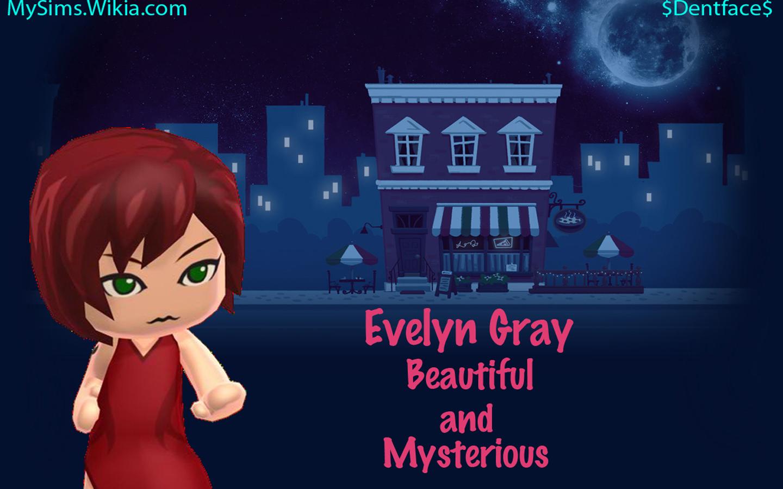Evelyn Gray Wallpaper Edit