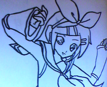 Desenho_da_Kagamine_rin_By_Himyko.png