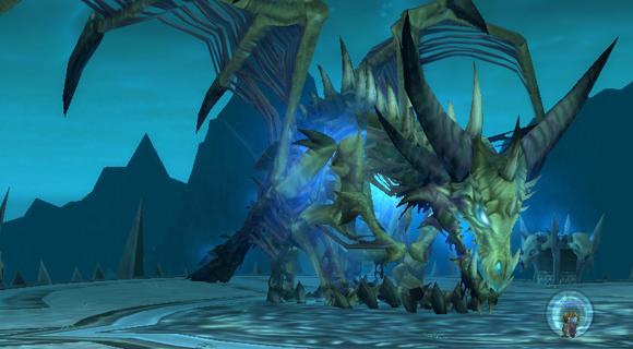 королева ледяных драконов - последний босс Залов Ледокрылых.