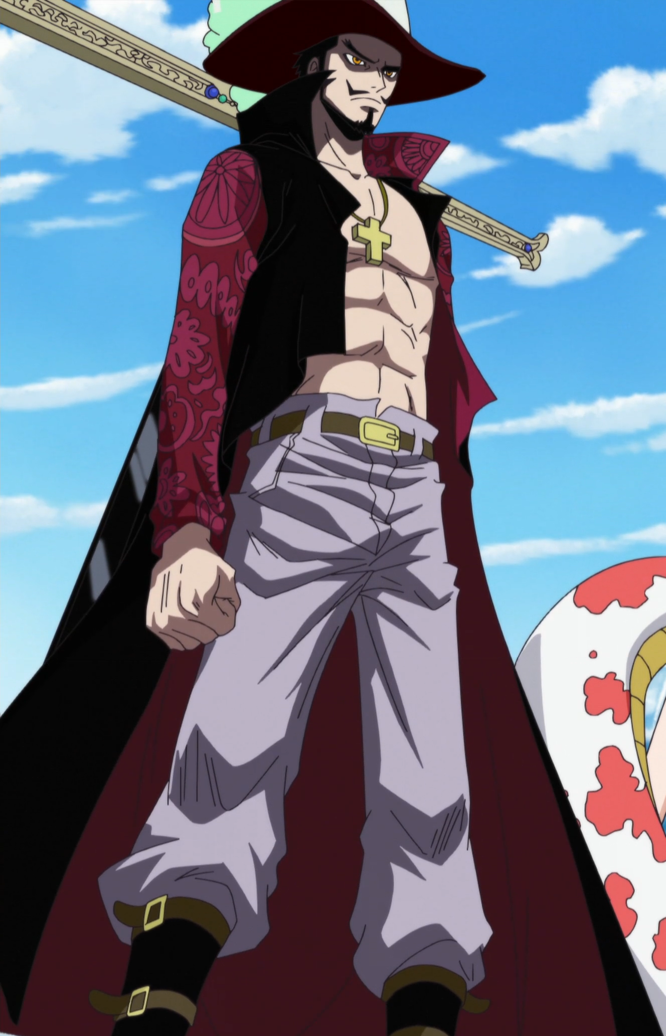 Dracule Mihawk - The One Piece Wiki - Manga, Anime ...