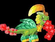 Natureza do dragão 3d