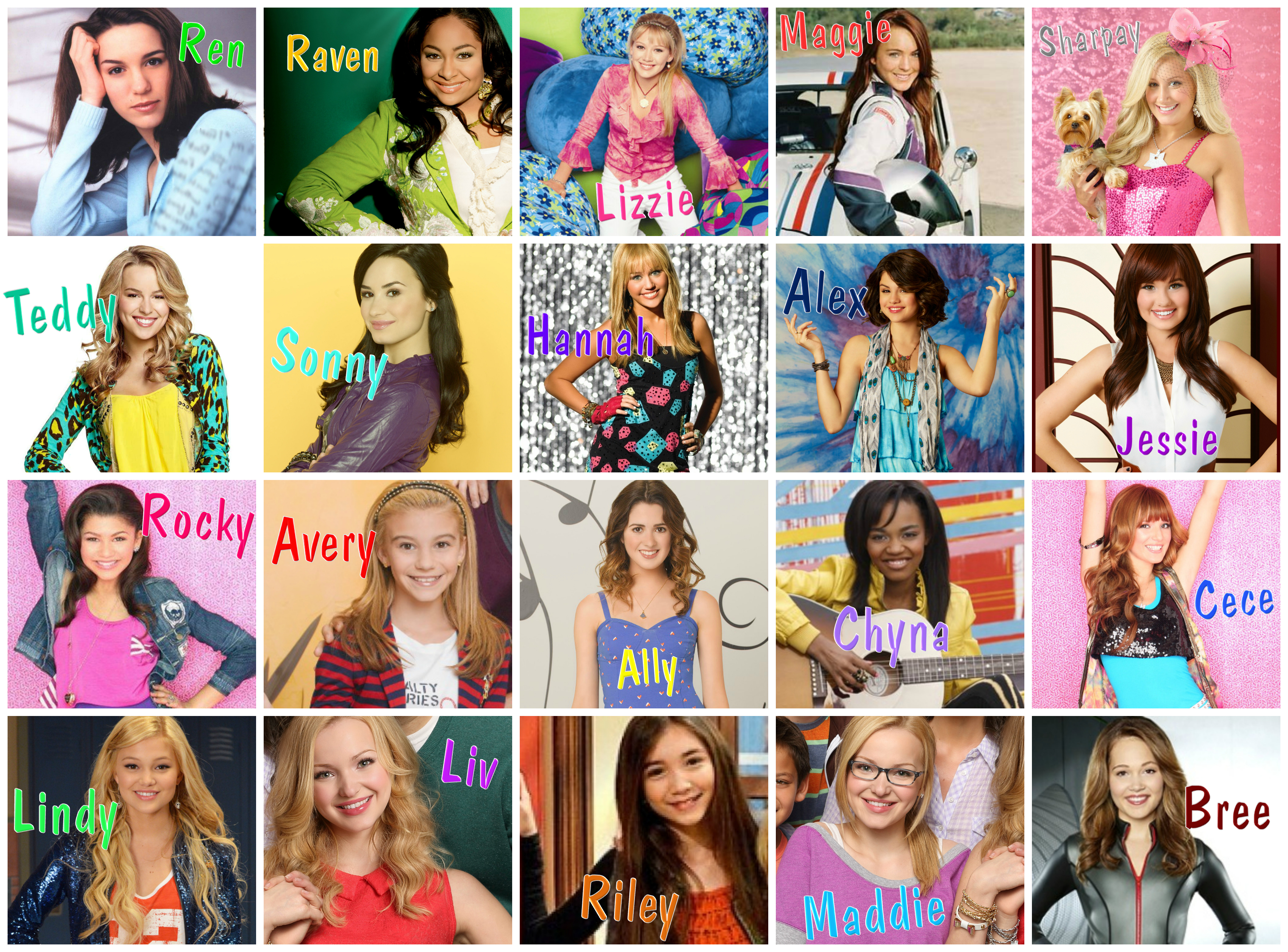 nude girls from disney channel