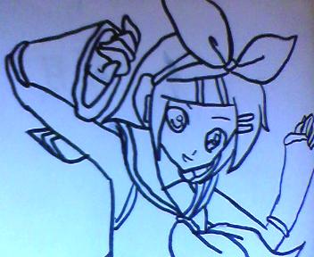 Desenho_da_Kagamine_rin_By_Himyko.png